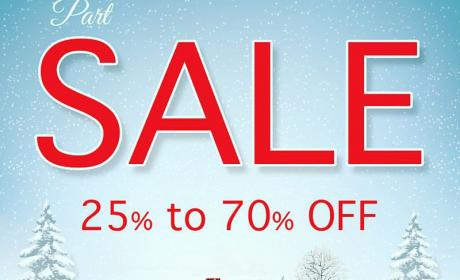 25% - 70% Sale at Chic Shoes, February 2016