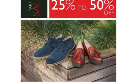 25% - 50% Sale at Clarks, November 2015