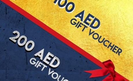 Spend 500 and get 200 AED gift voucher Offer at Dynamics Sports, June 2017