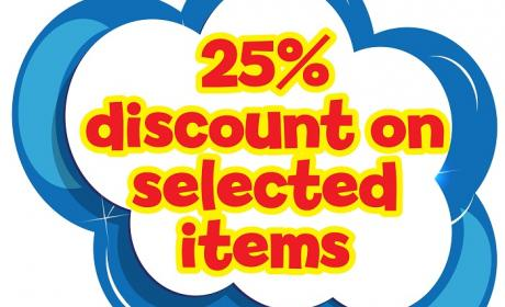 Up to 25% Sale at The Entertainer, November 2014