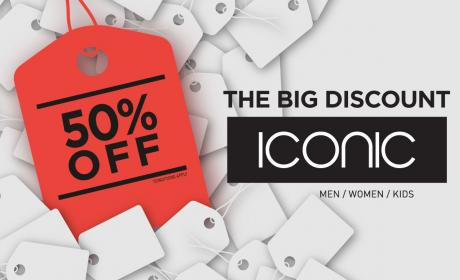 Up to 50% Sale at ICONIC, December 2015
