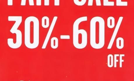 30% - 60% Sale at Juicy Couture, April 2016