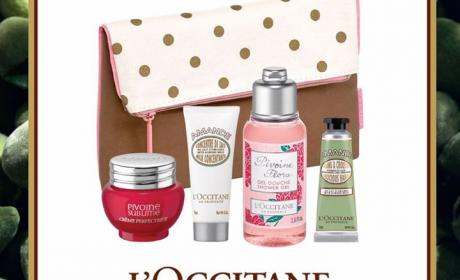 Spend 449 and Get your FREE spring essentials pouch Offer at L'occitane, May 2017