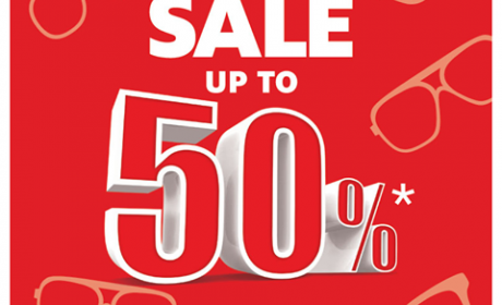 Up to 50% Sale at Magrabi Optical, February 2015