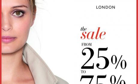 25% - 75% Sale at Marks & Spencer, February 2015