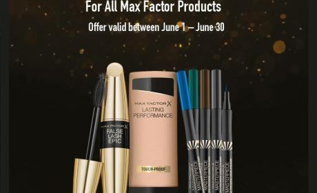 Buy 2 and get 1 Offer at Max, June 2017
