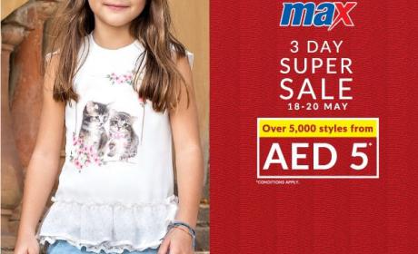 Special Offer at Max, May 2017