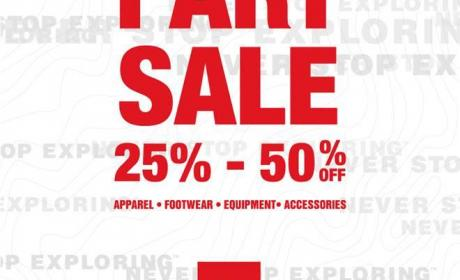 25% - 50% Sale at The North Face, December 2014