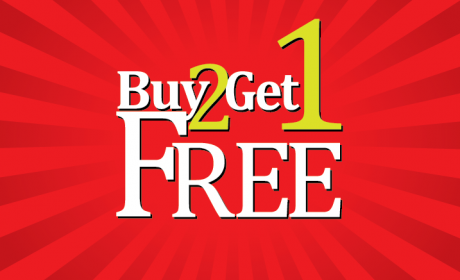 Buy 2 and get 1 Offer at Nutrition Zone, February 2016