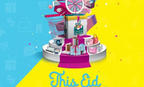 Spend 200 and get a chance to spin the wheel and win instant cash prizes and luxury gifts worth a total of AED 250,000! Offer at Outlet Mall, June 2017