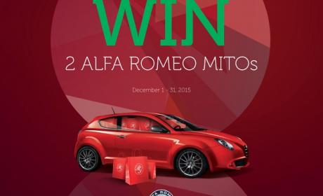 Spend 500 and get a chance to win one of two Alfa Romeo cars Offer at Paris Gallery, December 2015