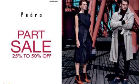 25% - 50% Sale at Pedro, January 2016