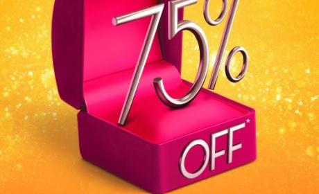 Up to 75% Sale at PURE GOLD JEWELLERS, July 2014