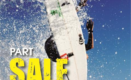 25% - 50% Sale at Quiksilver, February 2015