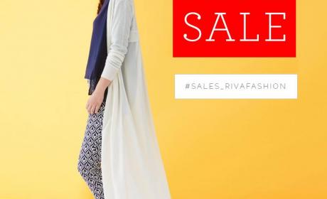 Up to 30% Sale at Riva, May 2017