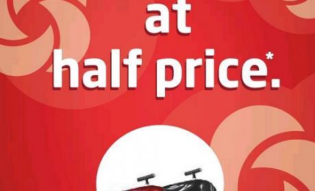 Buy 1 and get 2nd Bag on half price Offer at Samsonite, December 2014