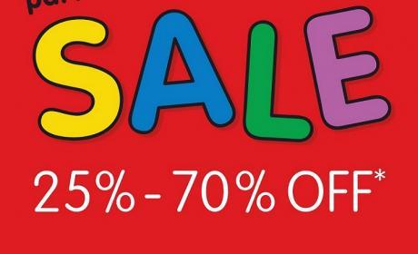 25% - 70% Sale at Sanrio, July 2014