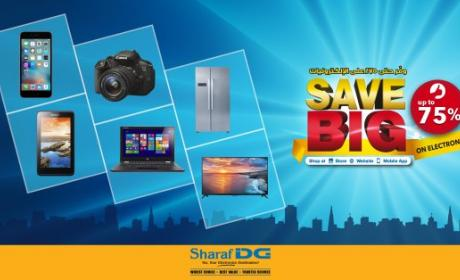 Up to 75% Sale at Sharaf DG, February 2016