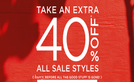 Up to 40% Sale at Sherri Hill, April 2016