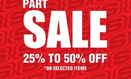 25% - 50% Sale at Skechers, April 2016