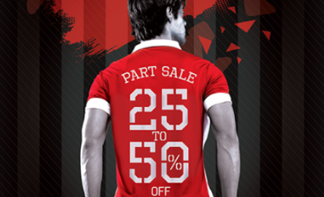 25% - 50% Sale at Stadium Sports, August 2016