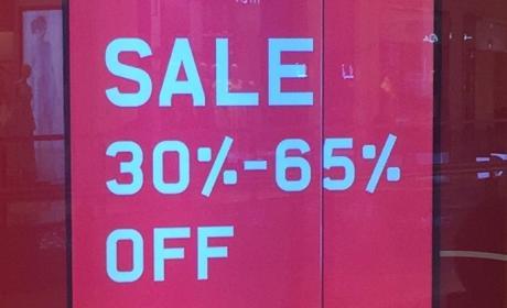 30% - 65% Sale at Sun & Sand Sports, June 2017