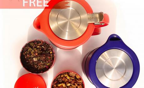 Buy 3 and get 1 Offer at Teavana, June 2017