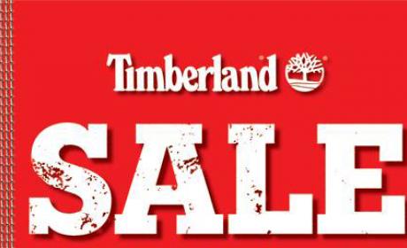 30% - 65% Sale at Timberland, May 2017