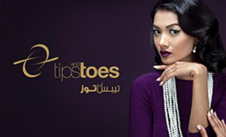 Special Offer at Tips and Toes, June 2017