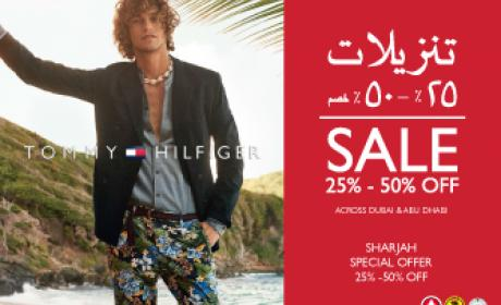 25% - 70% Sale at Tommy Hilfiger, July 2016