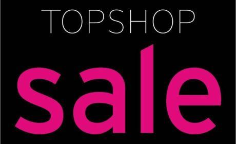 Up to 50% Sale at TOPSHOP, May 2017