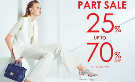 25% - 70% Sale at Vincci, August 2016