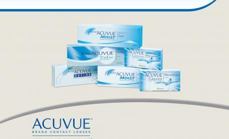 Buy 3 boxes & get 1 box free on all ACUVUE ® Brand Contact Lenses Offer at Vision Express, November 2014